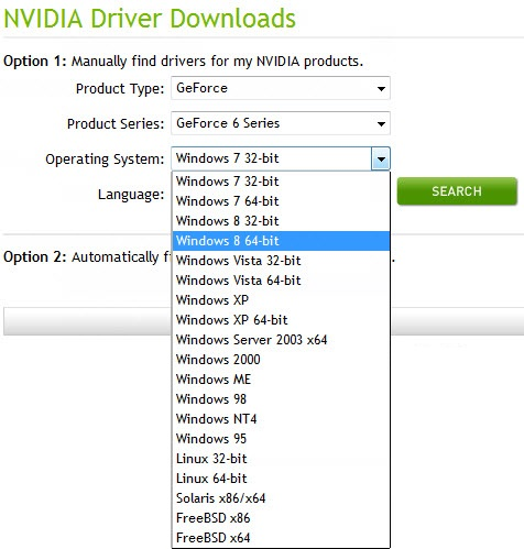 Nvidia Driver Download Type