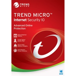 Trend Micro Internet Security 2016 1 Year 1 PC License Key (Email Delivery)