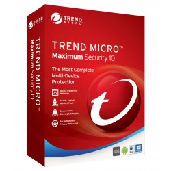Trend Micro Maximum Security 2016 1 Year 3 PCs License Key (Email Delivery)