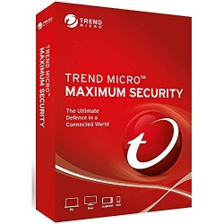 (Lot of 10) Trend Micro Maximum Security 2020 1 Year 3 PCs License Key (Email Delivery)